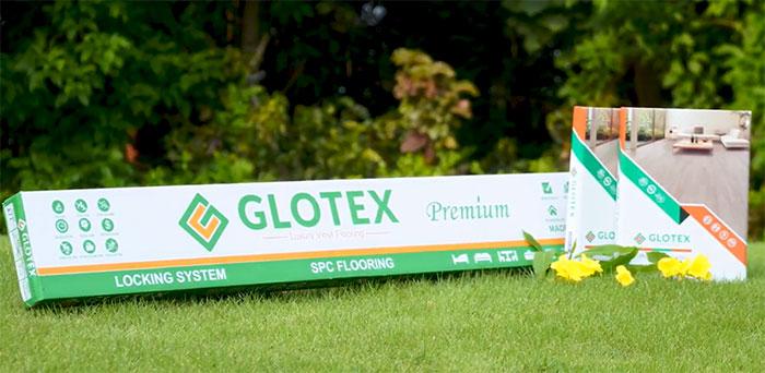 Ảnh phối cảnh sàn nhựa hèm khóa Glotex SPC