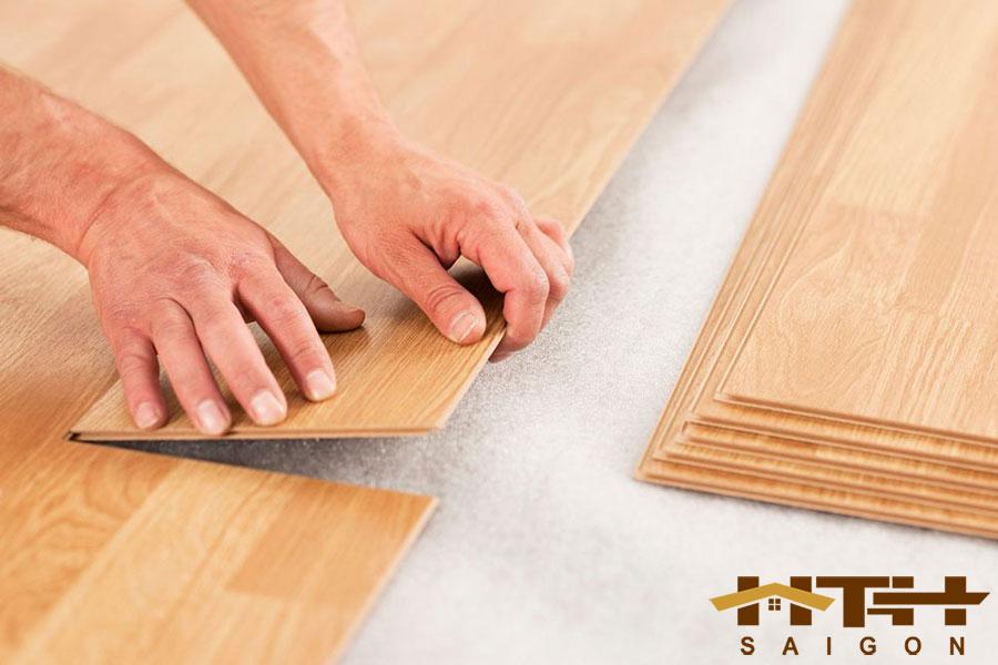 Lót sàn gỗ bao nhiều tiền 1m2