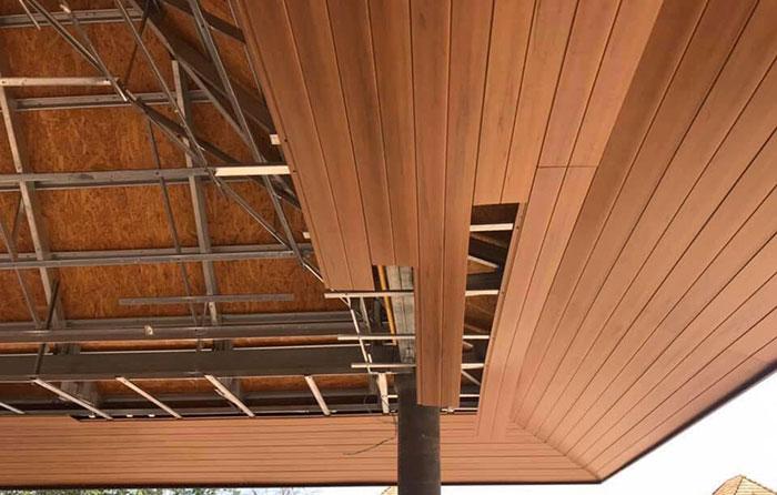 trần nhựa giả gỗ WPC