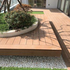 Lam gỗ nhựa HD140x25 Wood hình 6