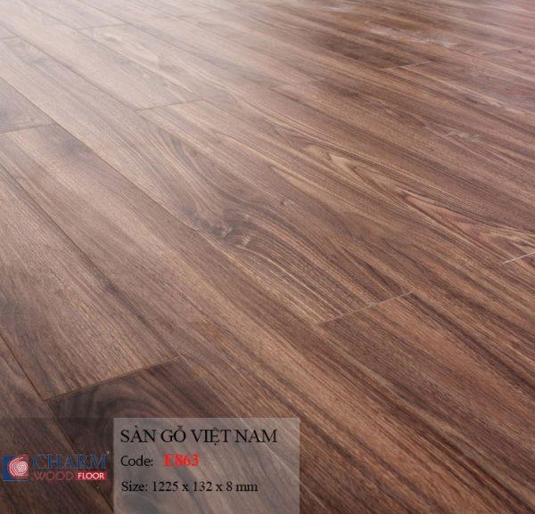 sàn gỗ charmwood E863 hình 1