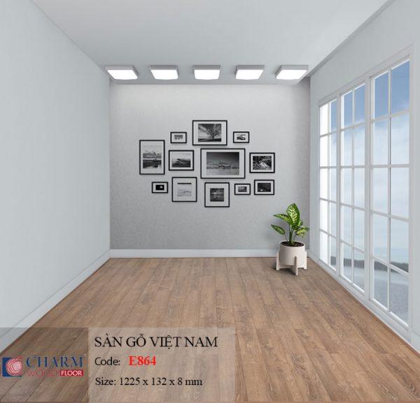 sàn gỗ charmwood E864 hình 1