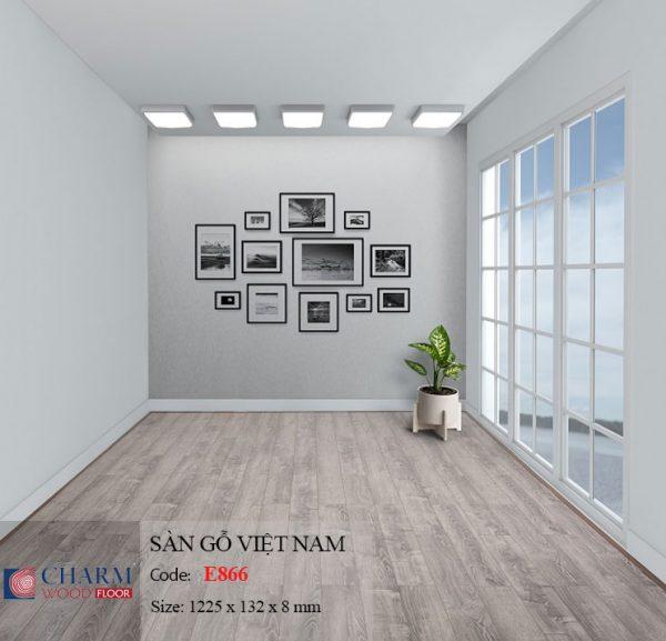 sàn gỗ charmwood E866 hình 2