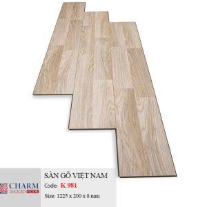sàn gỗ CharmWood K981