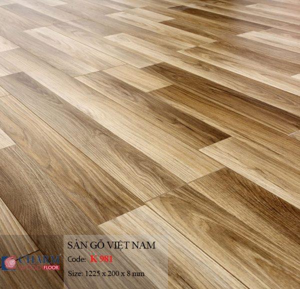 sàn gỗ CharmWood K981 hình 1