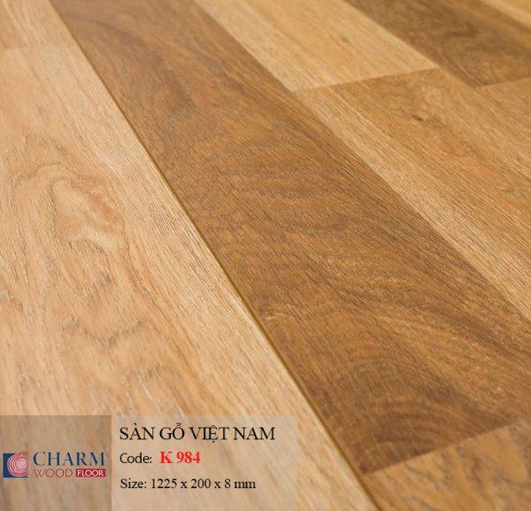 sàn gỗ Charmwood K984 hình 1