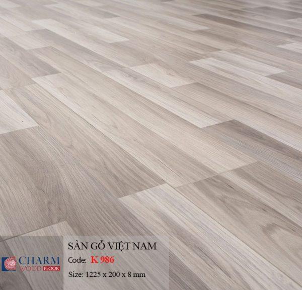 sàn gỗ Charmwood K986 hình 1