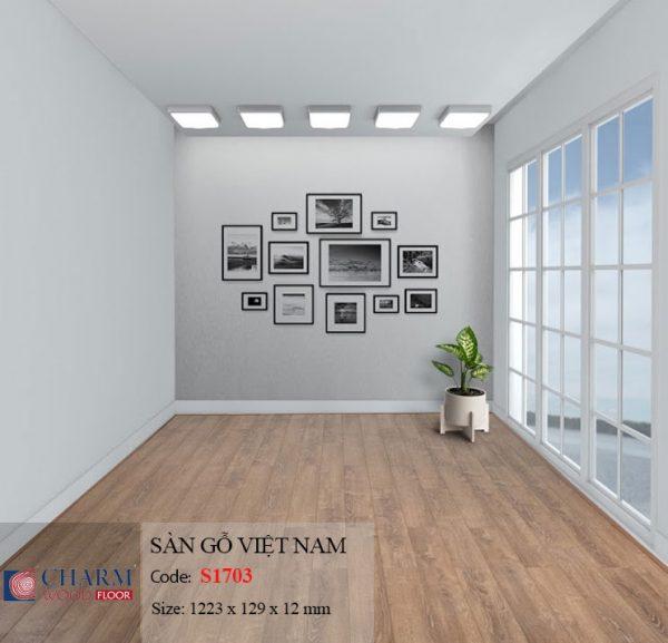 sàn gỗ charmwood S1703 hình 1