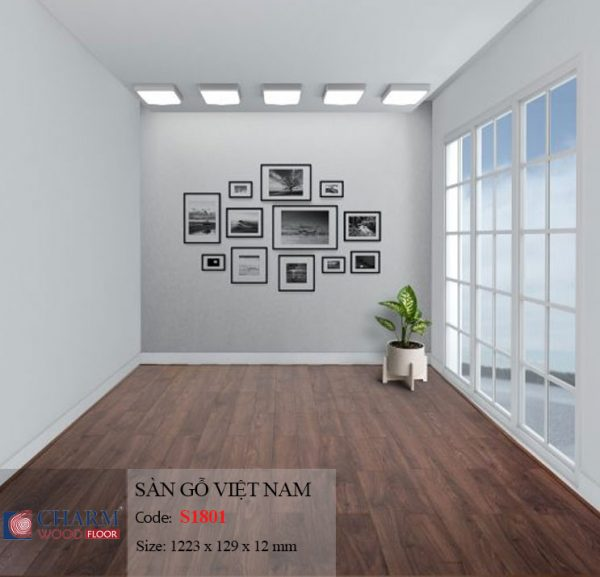 sàn gỗ charmwood S1801 hình 2