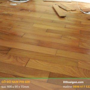 Sàn gỗ Gõ Đỏ hình 600
