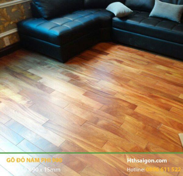Sàn gỗ Gõ Đỏ hình 900