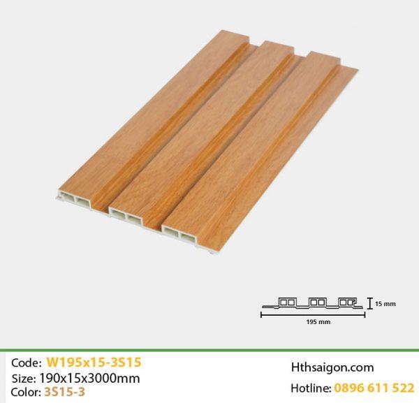 iWood W195x15 3S15-3