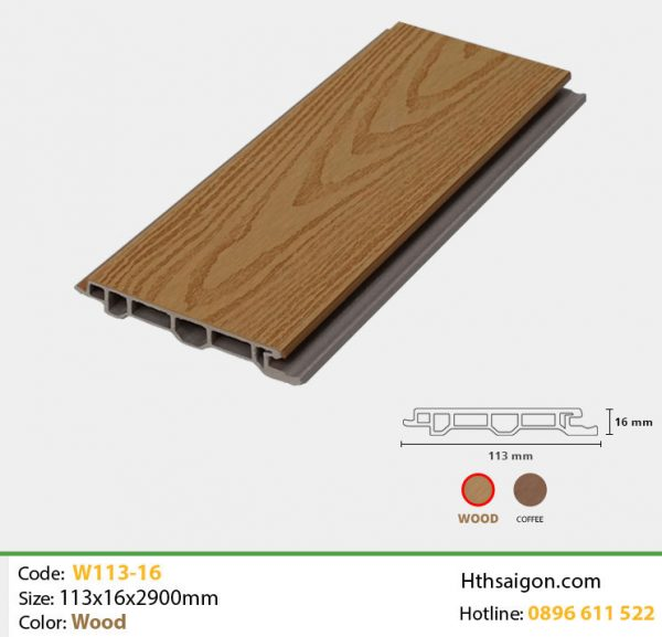 Ốp tường W113x16 Wood