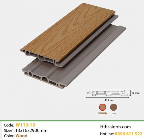 Ốp tường W113x16 Wood hình 1