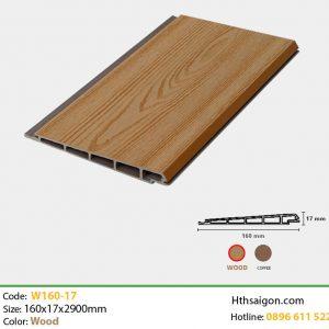 Ốp tường W160x17 Wood