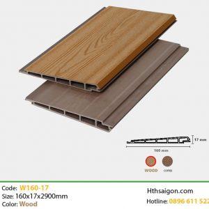 Ốp tường W160x17 Wood hình 1