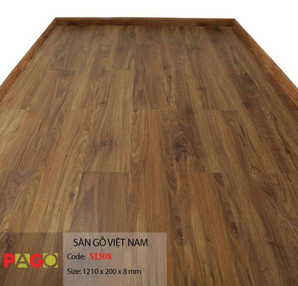 Sàn gỗ Pago M308 hình 1