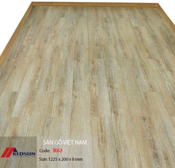 Sàn gỗ Redsun R63 hình 1