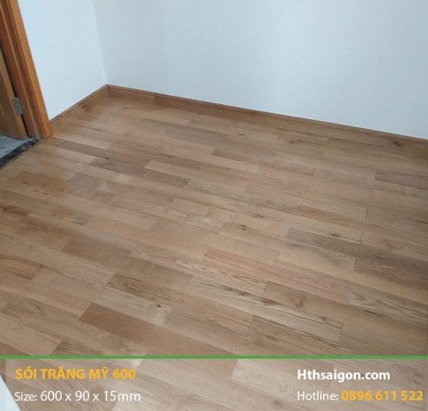 sàn gỗ sồi trắng Mỹ 600 hình 1