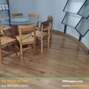 Sàn gỗ sồi trắng Mỹ 900
