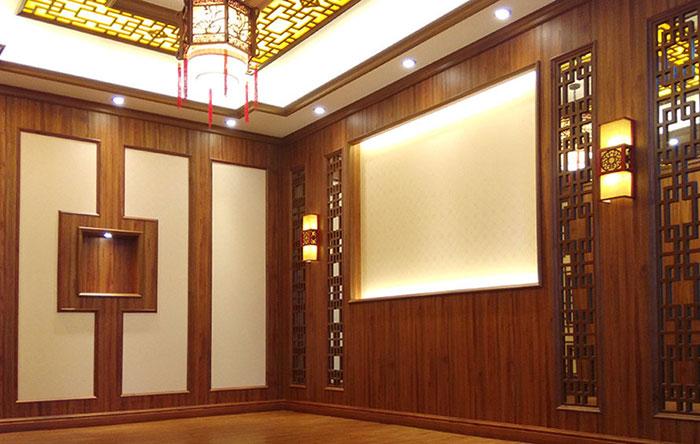 Tấm ốp tường PVC vân gỗ