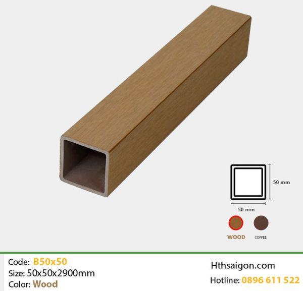 Thanh lam B50x50 Wood