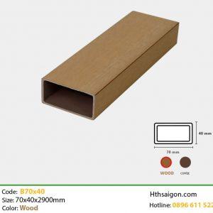 Thanh lam B70x40 Wood