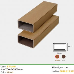 Thanh lam B70x40 Wood hình 1