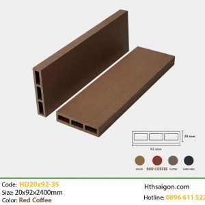 Thanh lam HD20x92-3s Red Coffee hình 1