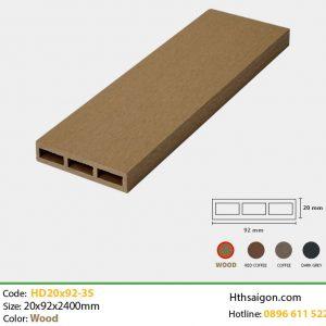 Thanh lam HD20x92-3S Wood