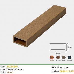 Thanh lam HD30x60 Wood