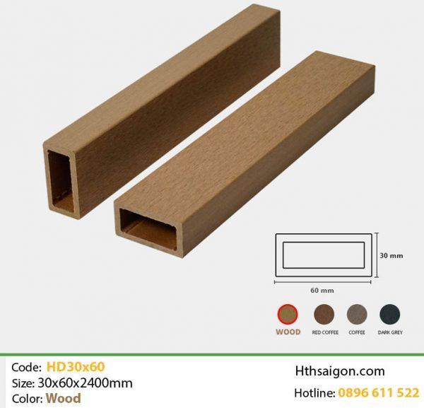 Thanh lam HD30x60 Wood hình 1