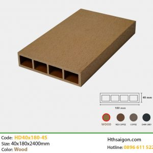Thanh lam HD40x180-4S Wood