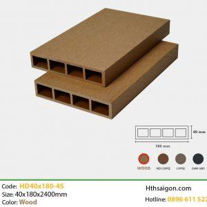 Thanh lam HD40x180 Wood hình 1