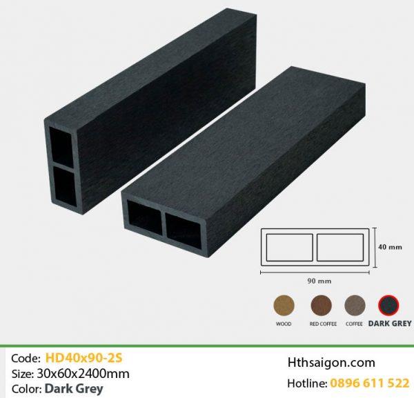 Thanh lam HD40x90-2S Dark Grey hình 1