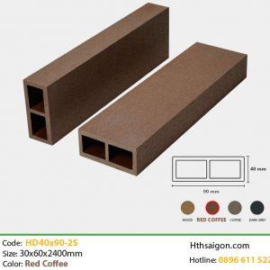 Thanh lam HD40x90-2S Red Coffee hình 1