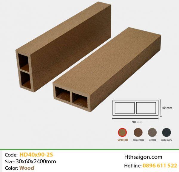 Thanh lam HD40x90-2S Wood hình 1