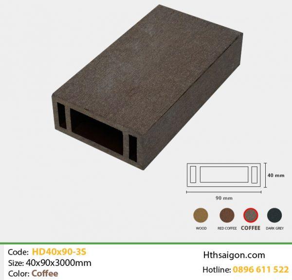 Thanh lam HD40x90-3S Coffee