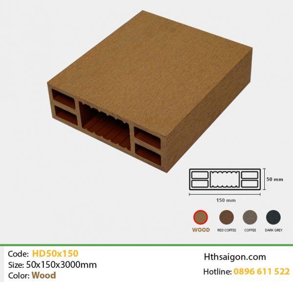 Thanh lam HD50x150 Wood