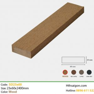 Thanh lam SD23x60 Wood
