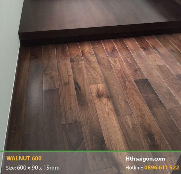 sàn gỗ Walnut 600