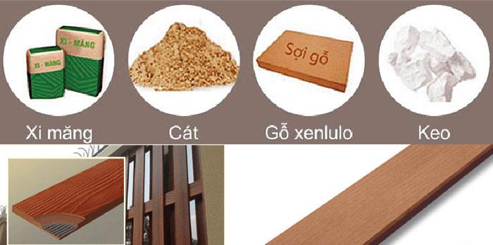 cấu tạo gỗ Conwood