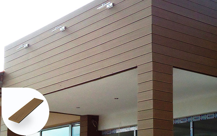 Thanh lam gỗ nhựa ốp tường