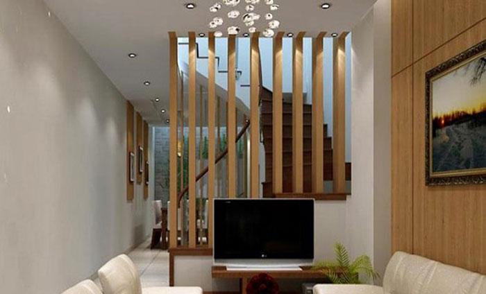 Thanh lam trang trí cầu thang phòng khách