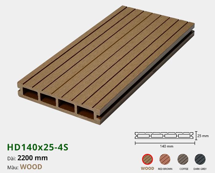 Sàn gỗ nhựa HD140x25-4S