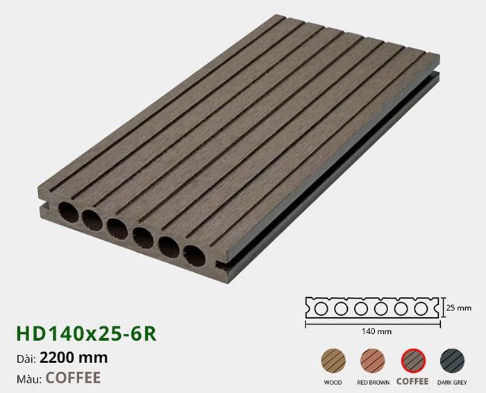 sàn gỗ nhựa HD140x25-6r