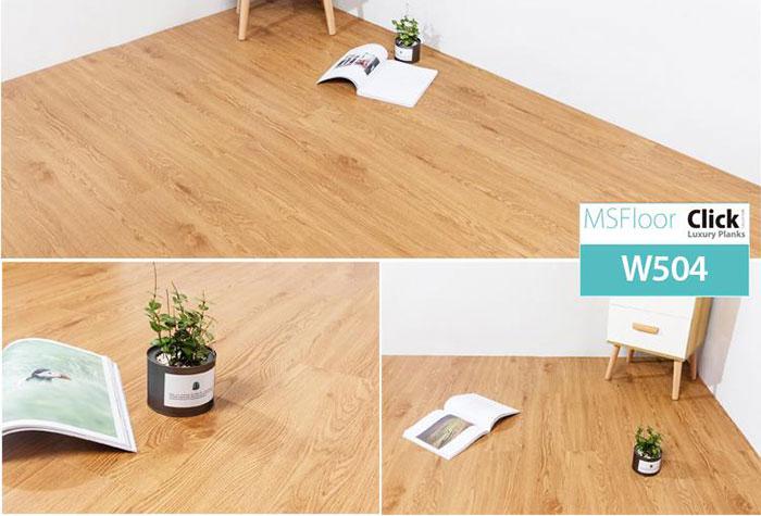 Sàn nhựa giả gỗ MsFloor SPC