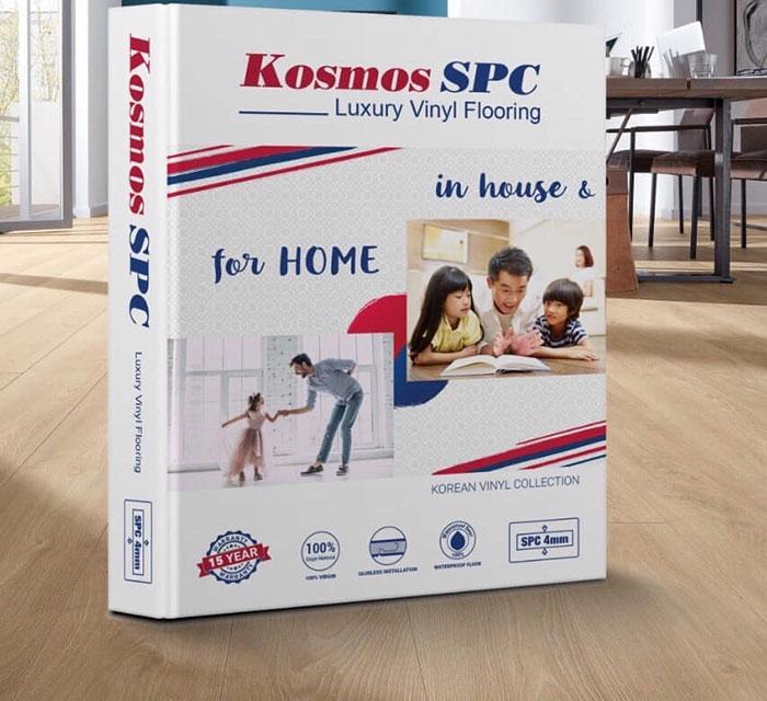 sàn nhựa hèm khóa Kosmos SPC