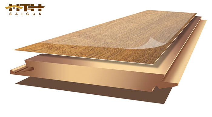 cấu tạo sàn gỗ Inovar gồm có 4 lớp chính