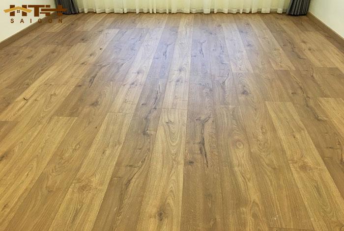 Công trình sàn gỗ KronoSwiss hình 1